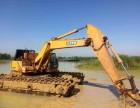 卡特320型水陆两用挖掘机租赁服务设备(哈尔滨市)