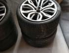 原厂宝马21寸轮毂带胎