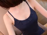 欧美性感吊带小背心女 修身大码 露背打底背心高品质一件代发