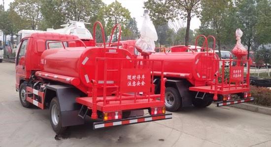 厂家直销解放6立方民用水罐消防车货到付款