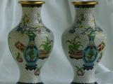 北京铜工艺品艺术品摆件回收景泰蓝装饰品回收油画字画