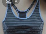 新品JACKGINA专业运动型双层可调肩带运动文胸瑜伽背心