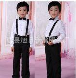 儿童表演服大合唱服装演出服中小学生朗诵服舞台男孩背带裤
