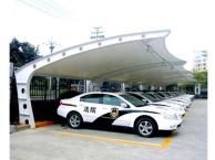 徐州膜结构停车棚景观棚安装制作找徐州康华公司