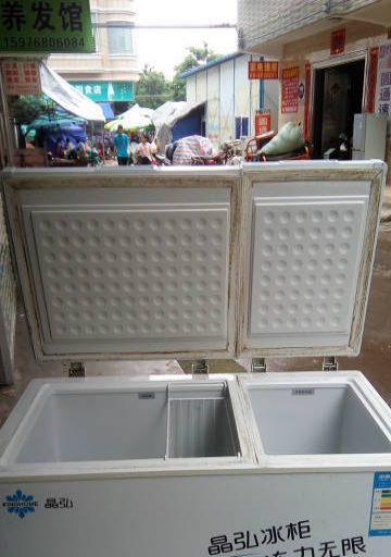搬档口 低价转让一台双柜冰箱