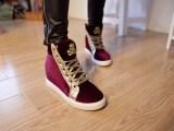 新款潮女鞋女单鞋平底单鞋日系鞋绸缎磨砂纯色胶粘鞋系带鞋子