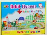 厂家直销 城市轨道立交桥 交通轨道 益智玩具 拆装火车轨道拼