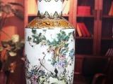 粉彩大花瓶九安十二喜-景德镇陶瓷花瓶