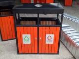 厂家大量现货供应户外垃圾桶 木条垃圾箱 优质分类垃圾桶