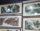 乌市新市区厂家专业现场装裱字画,十字绣配框,文房四宝销售