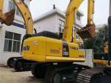 嘉兴个人小松360二挖掘机出售二手轮胎挖掘机