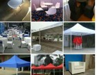 租赁新舞台,桁架,沙发,桌椅,铁马,帐篷,礼宾杆等