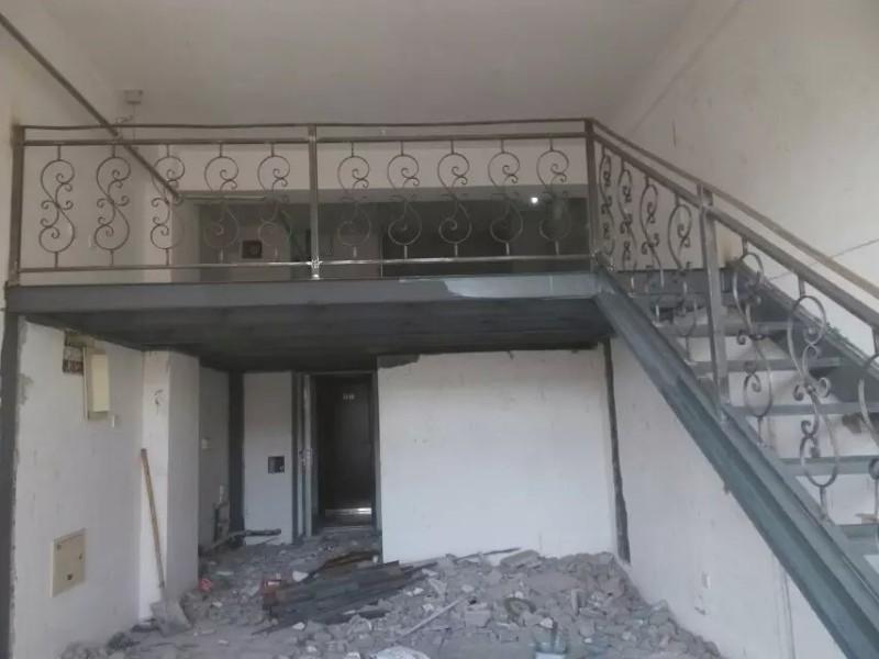 北京房山区阁楼搭建 室内二层 钢结构阁楼设计安装