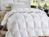 羽绒被加厚冬被鹅绒被白鸭绒被子棉被芯五星酒店床品批发厂家