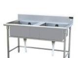 双星不锈钢拆装式厨房洗刷台洗碗盘工作台操作台水池水槽