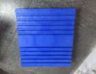 乔丰塑料地台板9脚塑料托盘批发超市仓库平面川字托板