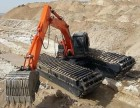 承德市平泉县韩国斗山215型湿地挖掘机租赁绿色产品
