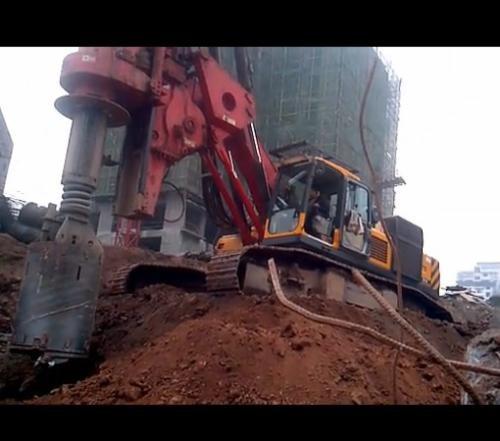 崇左市钦州市中联重科旋挖桩机公司低价格承接旋挖桩机旋挖桩业务