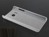 华为Y300C透明皮纹PC壳磨砂单底 水晶壳批发 Y300C手机