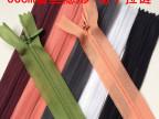 厂家热销 3真丝隐形拉链 50cm裙子拉链 服装拉链 大量现货批发