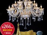 欧式时尚水晶灯 欧式客厅水晶吊灯 餐吊灯厂家批发KTV灯具656