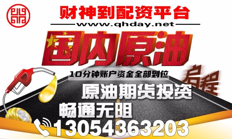 长春国内原油期货-4000元起配-手续费全网超低价!