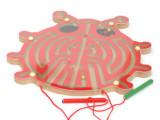 金龟子磁性迷宫  运笔磁性迷宫  木制玩具 益智玩具 蝴蝶 飞鸟