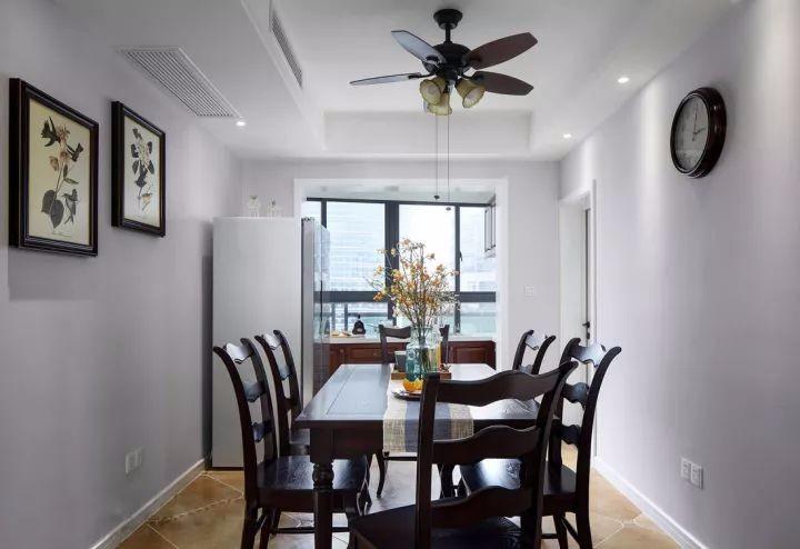 装修案例 140 现代美式四房,她家浴缸真漂亮!