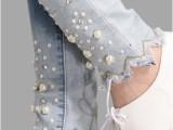 2014秋季韩版新款女式钉珠镶钻显瘦修身水钻牛仔裤 长裤女