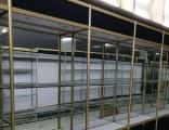 貨架大全干果水果架 珠寶展示柜鈦合金展柜 倉儲貨架