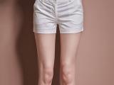 2014春夏新品款欧美高端品质女装OL简约百搭短裤热裤一件代发加