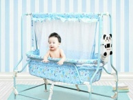 婴儿床电动摇篮