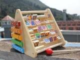 亏本处理三角翻板多功能玩具 打击乐器算珠