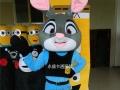 供应拉萨出售疯狂动物城卡通人偶服装朱迪兔子尼克狐狸