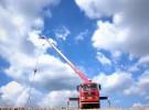 达州挖机平板运输车.随车吊.平板带吊机厂家成本直销面议