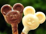 批发食品 美味思迷古力 巧克力棒棒糖果饼干 儿童卡通米奇零食20