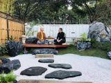 庭院景观布置 假山凉亭喷泉制作