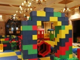 2018厂家直销儿童淘气堡海洋球池大型积木城堡乐园