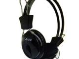 正品杰强808耳机 黑色编织线 带低音音效 抗暴力 适合网吧配机