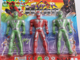 3个超人厂家直销 奥特曼玩具 超人玩具儿