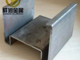 天津祥潤熱鍍鋅異型鋼冷彎異型鋼Q235材質加工定制