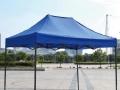 户外帐篷四脚棚摆摊伞简易帐篷遮雨棚夜市黑杆