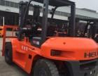 临沂旧合力5吨叉车配双排轮,二手5吨合力叉车