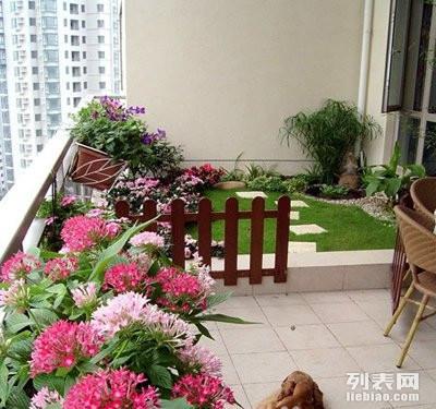家庭花园,楼顶花园,小阳台园艺,别墅园林设计与施工