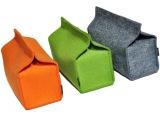 正品 家居  收纳 浅 灰色 羊毛毡纸巾盒 毛毡纸抽 YES B