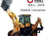 挖掘装载机 农用两头忙 铲车改装挖掘机