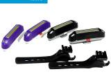 自行车尾灯 USB充电山地车尾灯 警示灯led车灯 印象骑行厂家