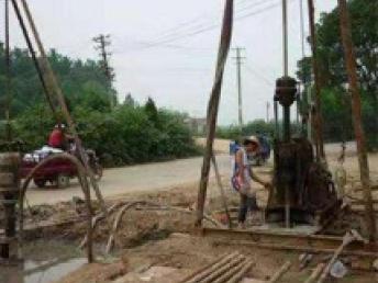 武漢江夏專業基坑降水 地源熱泵井電話