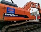 广州新塘二手挖机市场花都区私人二手勾机二手斗山420挖机