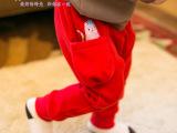 贝贝帕克 男女宝宝休闲裤 儿童裤子卫裤宝宝哈伦裤幼儿韩版裤